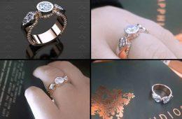 Обручальные кольца в стиле Гарри Поттера