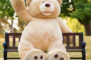 Гигантский мишка Тедди