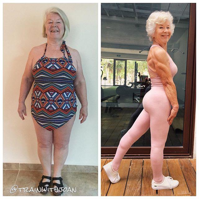 семидесятилетняя женщина